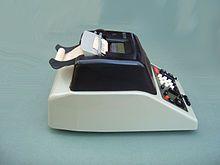 Calculator Olivetti MC 24 designed 1956 by Marcello Nizzoli