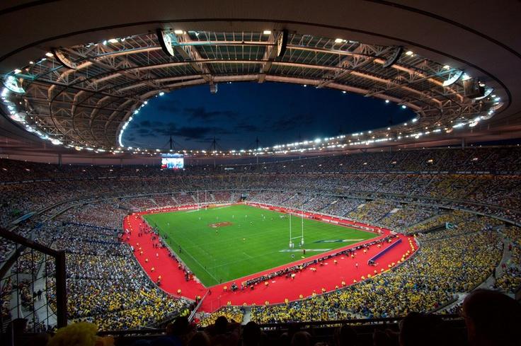 Stade de France, configuration rugby, Finale de la Coupe du Monde (2007)