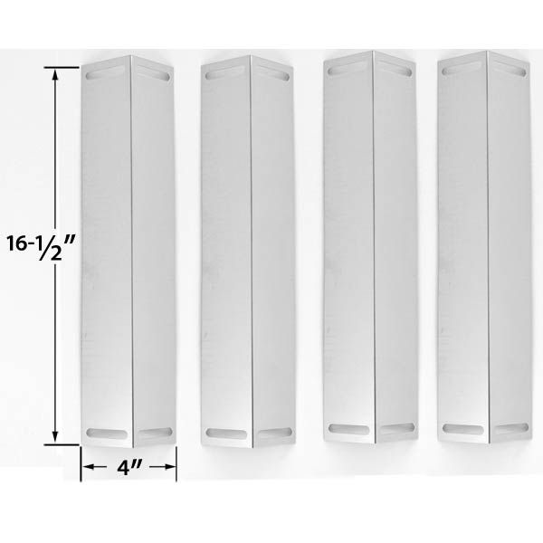 4 PACK STAINLESS STEEL HEAT SHIELD FOR SMOKE HOLLOW PS9500, PS9900, UNIFLAME GBC976W, CHARBROIL, BRINKMANN & MASTER CHEF GAS MODELS Fits Compatible Smoke Hollow Models : PS9500, PS9900 Read More @http://www.grillpartszone.com/shopexd.asp?id=33508&sid=36535