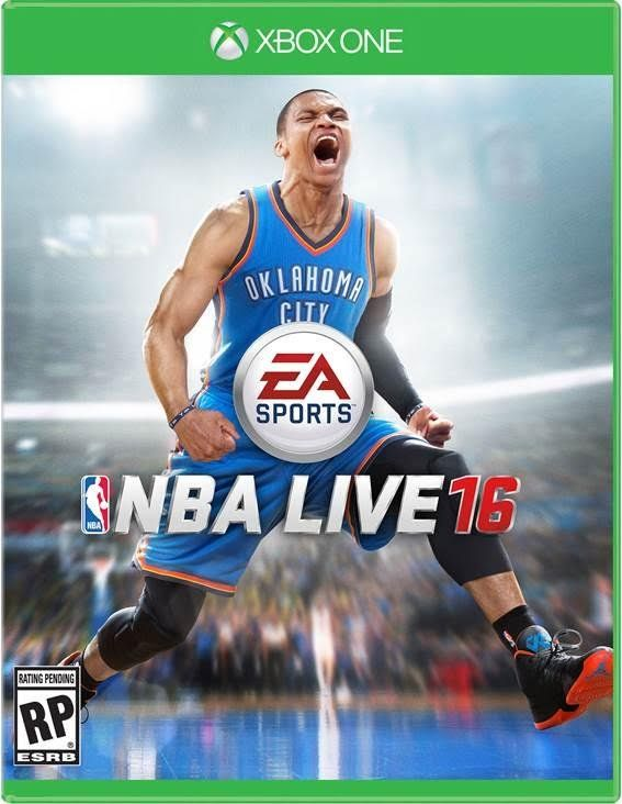 Against NBA 2K16's Three, NBA Live 16 Has One Cover Star: Russell Westbrook