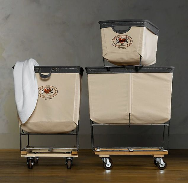 Dandux Laundry Carts: These look great for laundry... or breaking out of a prison.