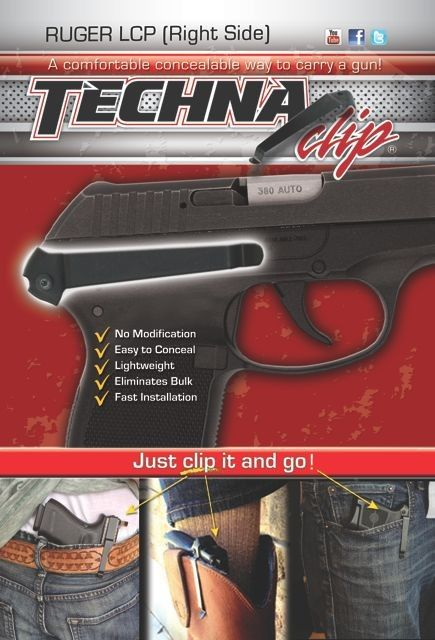 Ruger® LCP Belt Clip (Right Side)