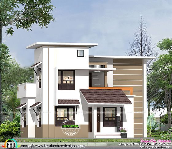 Affordable Low Cost Home Kerala Design And Floor Plans Rectangular Bhk Best Free Idea Inspiration