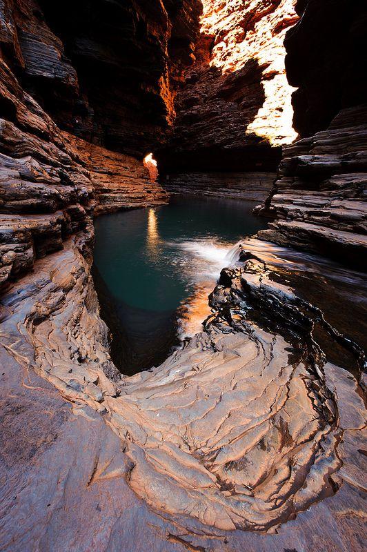Kermit Pool, Karijini National Park, Western Australia #City_Edge_Apartment_Hotels #Cityedge http://www.cityedge.com.au