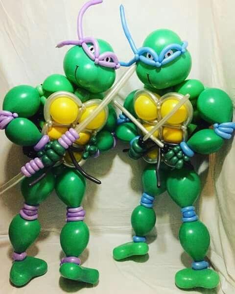 16 Best Balloon Twisting: Ninja Turtles Images On