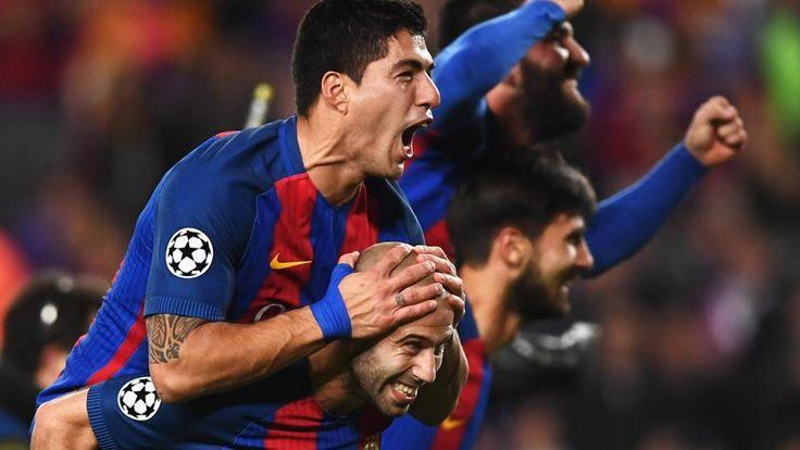 Las mejores imágenes del Barça-PSG