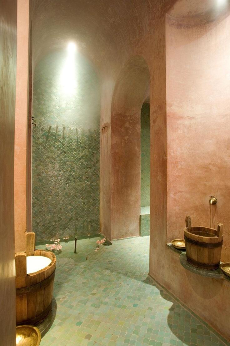 Moroccan decor bathroom - Amanjena Resort Spa Marrakech Moroccan Bathroommoroccan Decormoroccan
