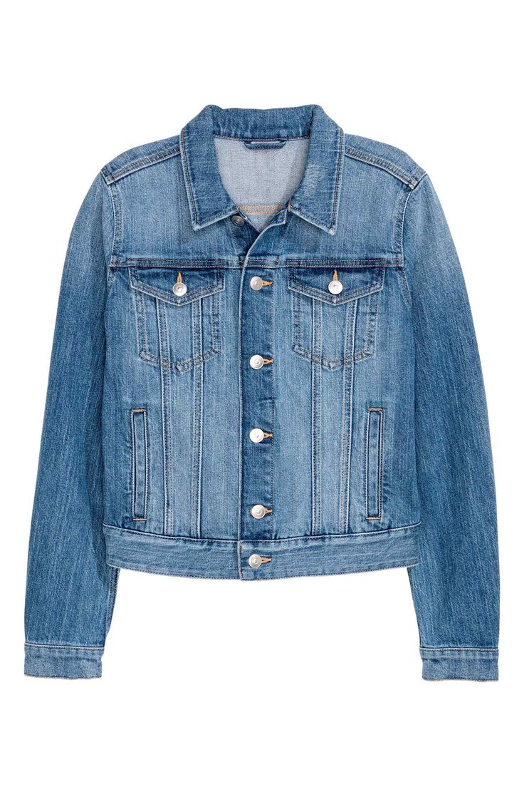 Denim jacket - Denim blue - Ladies | H&M GB