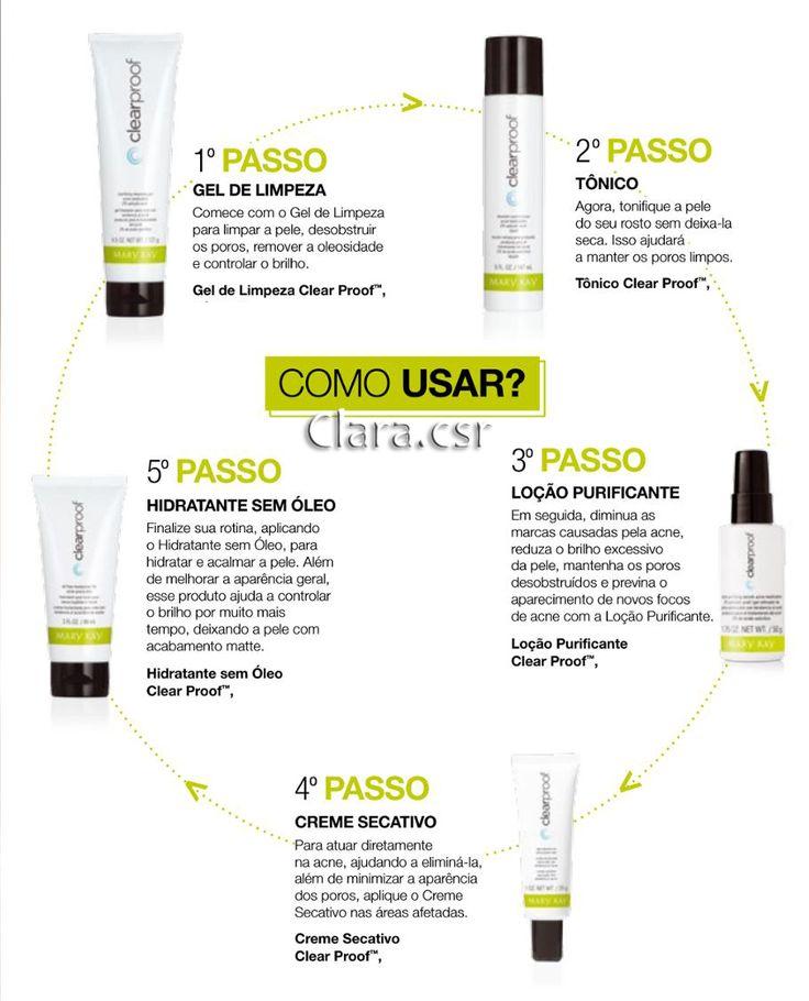 A Mary Kay lançou uma nova linha incrível para tratamento de pele com acne.  Com apenas cinco produtos, a linha Clear…
