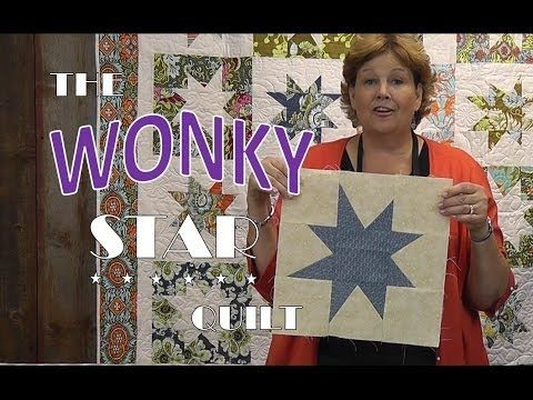 The Wonky Stars Quilt Tutorial - YouTube