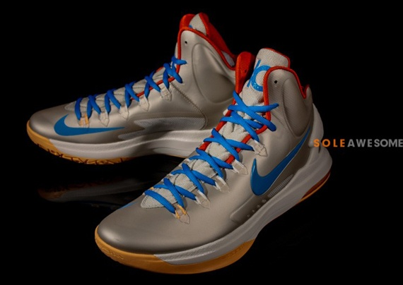 Online Cheap Nike KD 6 Blue Varisty Red White 599424 102