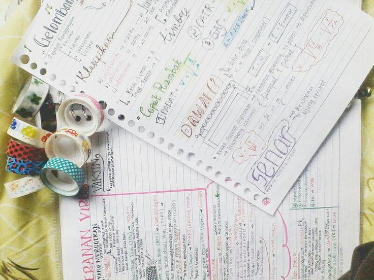 Biophysc addicted. And see my washi. Polkapolka!!!!   #studyblr #studygram #virus #stasioner #studyhard #workhard #tumblr #studyblrstuff