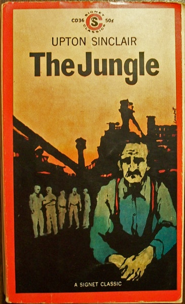 an analysis of the novel the jungle by upton sinclair Plot summary of the jungle by upton sinclair part of a free study guide by bookragscom.