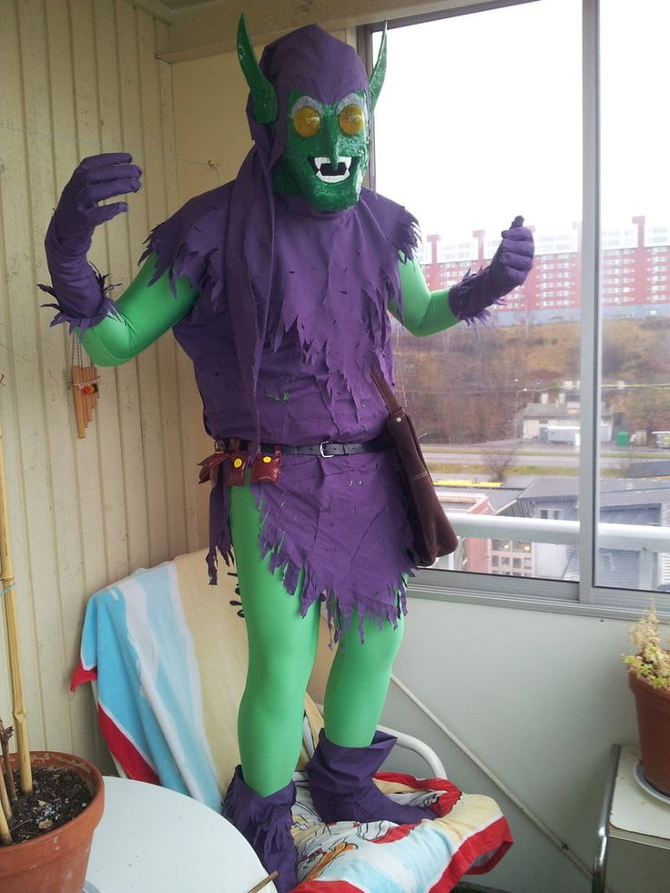 Green Goblin Cosplay Costume by Currythecat