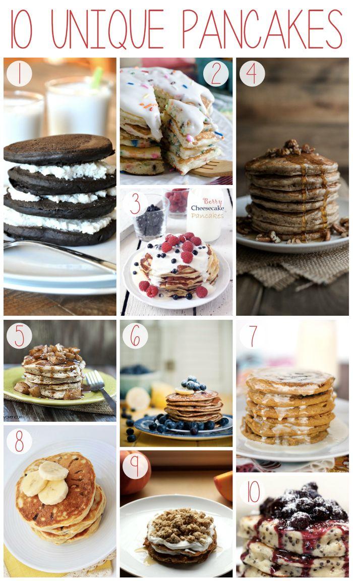 10 Unique Pancake Recipes