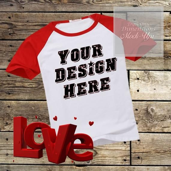 Download Red Raglan Valentines T Shirt Mock Up Blank Shirt Image Basic Raglan Flat Lay Mockup Men Tshir Free Packaging Mockup Free Psd Mockups Templates Mockup Free Psd