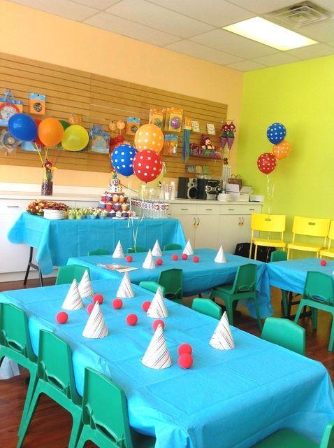 "Photo 3 of 13: Rainbow, Art, Clown / Birthday ""Gage's 2nd Gymboree Birthday"" | Catch My Party"