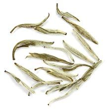 Jasmine Silver Needle white tea is made up of young and elegant tea leaf buds with a whisper of jasmine aura. All the appeal and softly sweet nuances of a classic Silver Needle tea, enhanced with the