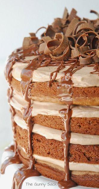Nutella Chocolate Torte