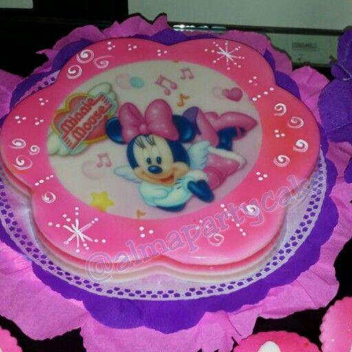 Gelatina de minnie mouse | TORTAS DECORADAS | Pinterest | Minnie ...