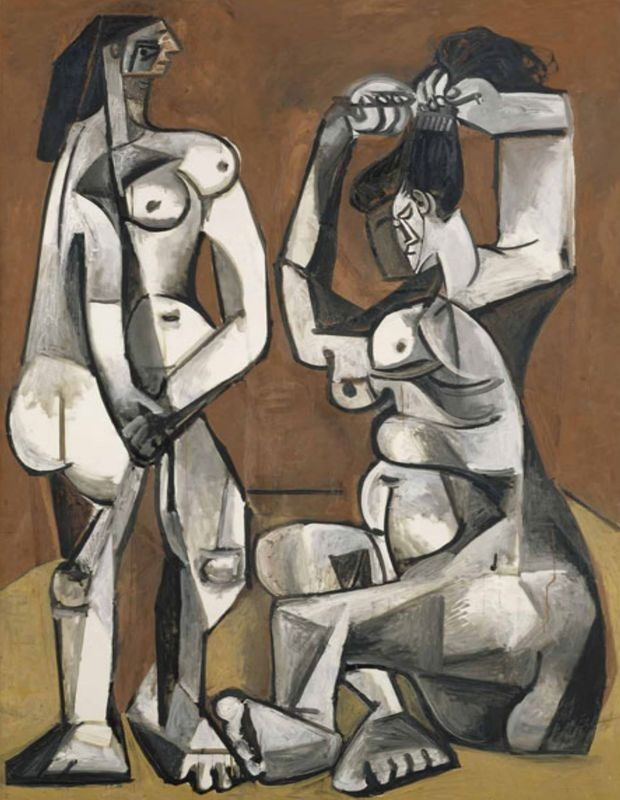 Pablo Picasso, Women at their Toilette, 1956. Musée Picasso, Paris (MP210) © RMN / Jean-Gilles Berizzi / Succession Picasso / DACS 2009