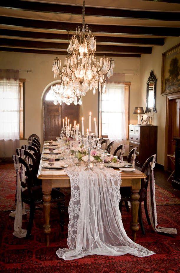 Ideias Casamento Temático: Downton Abbey {Inspiração}