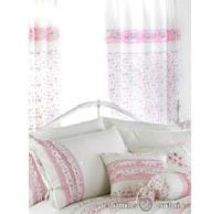Vintage Pink Pencil Pleat Curtain - Pencil Pleat Curtains