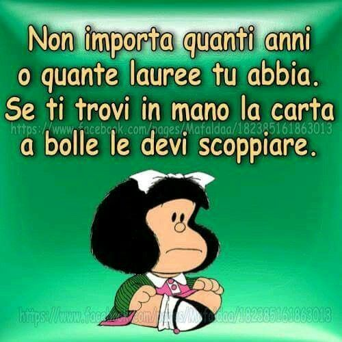 Grandissima Mafalda!