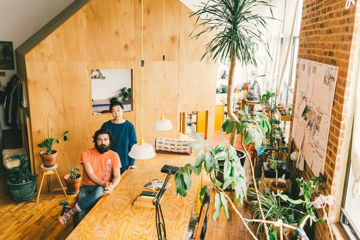 A Treehouse Grows in Bushwick: How One Couple Transformed Their Studio Apartment - Racked NY