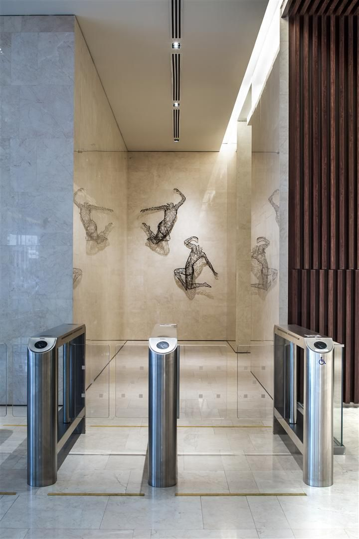 Entrance Corridor At China Square Central Singapore By Dp