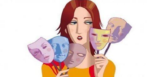 Le cinque ferite infantili con le rispettive maschere