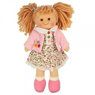 szmaciana lalka Paulinka firmy #Bigjigs to super przytulanka dla każdej dziewczynki
