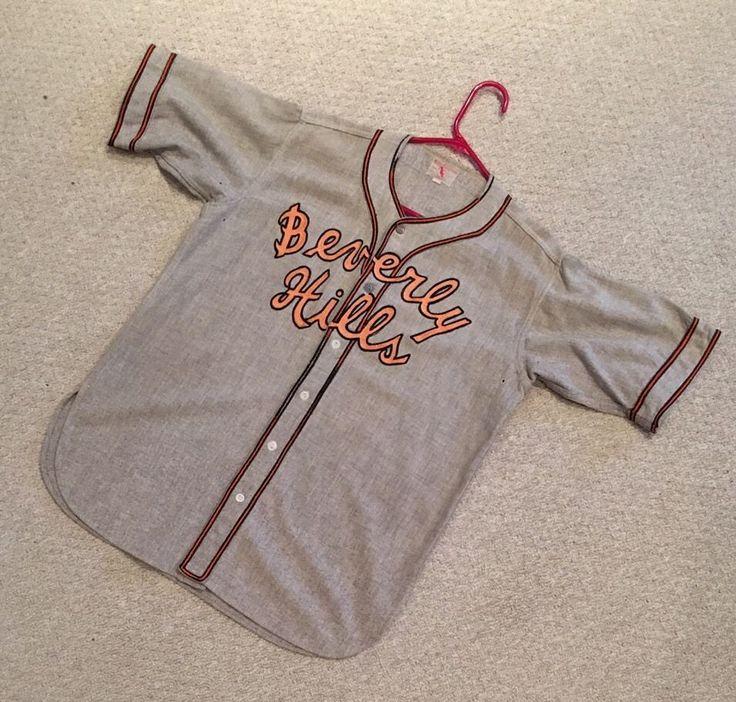 Rare Vintage 1960's Beverly Hills High school Baseball Jersey Uniform Number #7 | Collectibles, Historical Memorabilia, Teaching & Education | eBay!