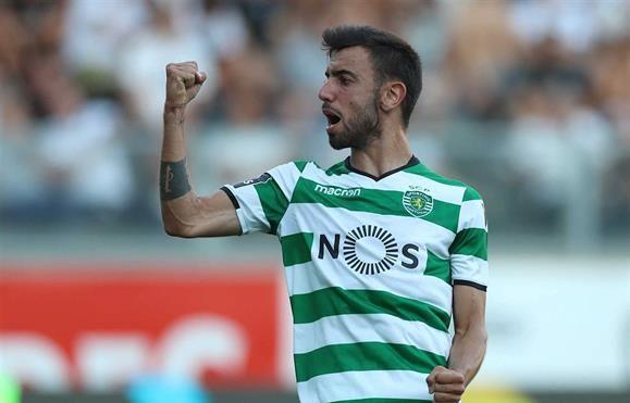 Um grande leão a rugir com golos deu banho em Guimarães vencendo por 5-0 com 2 golos de Bruno Fernandes