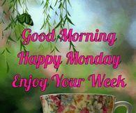Good Morning Happy Monday Enjoy Your Week