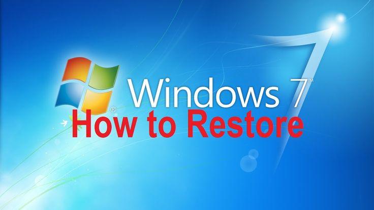 Windows 7 System Restore, Create Restore Point