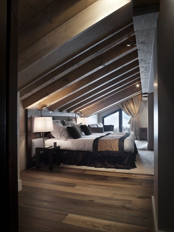 Seriously considering putting the master bedroom up there!