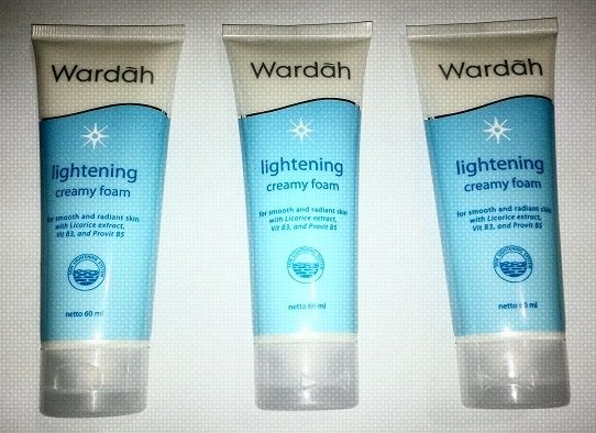 info tentang Review Pembersih Wardah Lightening Creamy Foam