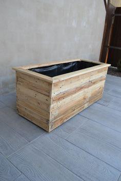 1000 id es propos de bac a fleur bois sur pinterest jardinage potager bac de jardinage et. Black Bedroom Furniture Sets. Home Design Ideas