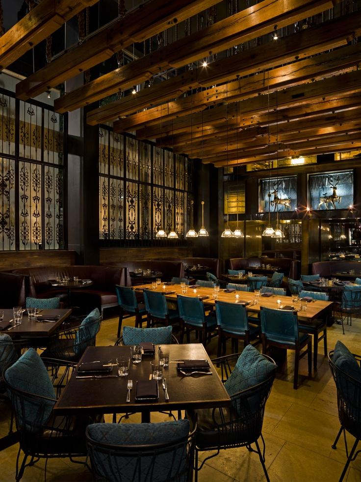 Zengo Restaurant In NY InteriorsCafe RestaurantRestaurant DesignUxbridgeRestaurant