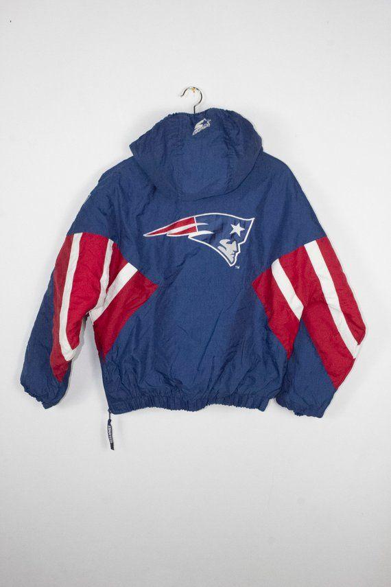 867406a34 vintage patriots starter jacket - 90s - new england - nfl - football ...