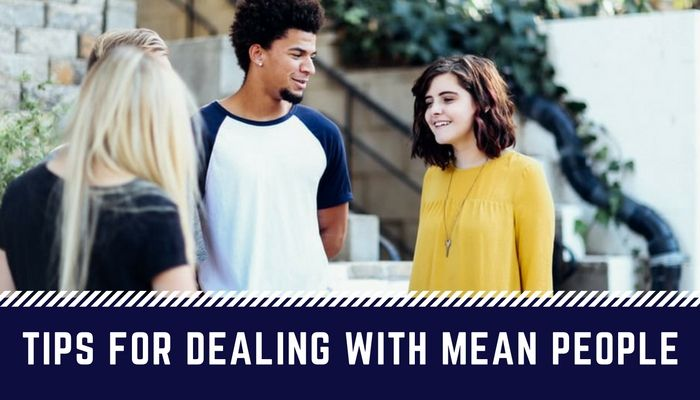 Youth Devotion tips for dealing with mean people