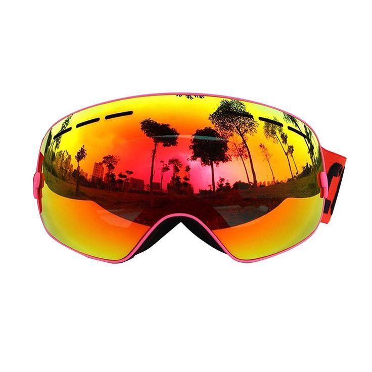 polarised ski goggles 6ypy  COPOZZ Gog-201 Spherical winter ski goggles anti-fog professional snowboard  ski eyewear polarized