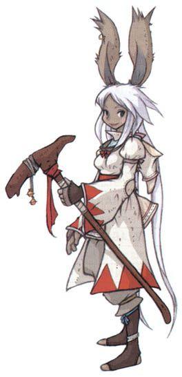 Viera White Mage: Final Fantasy Tactics Advance