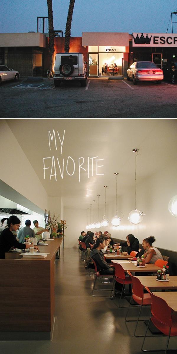 so good. pho cafe. Silverlake.