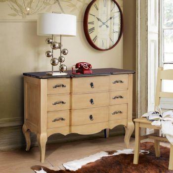 Comodă pentru dormitor Sabine vintage -  Adauga accente vintage casei tale! #comoda #comodavintage #mobilavintage #vintage #vintagefurniture #vintagesideboard #sideboard #DecoStores
