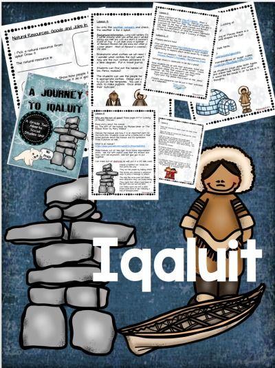 Inquiry unit on Iqaluit for Grade 2 Social Studies.