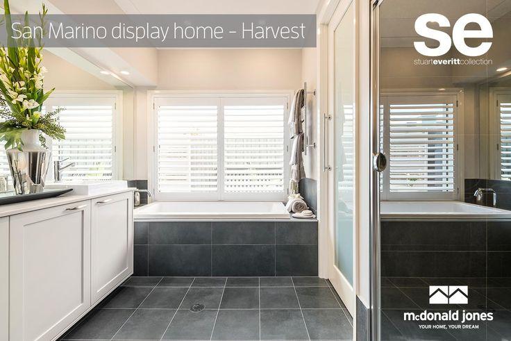 Love this Bathroom! #mcdonaldjoneshomes #displayhome #bathroom #modern #hamptons #luxurybathroom