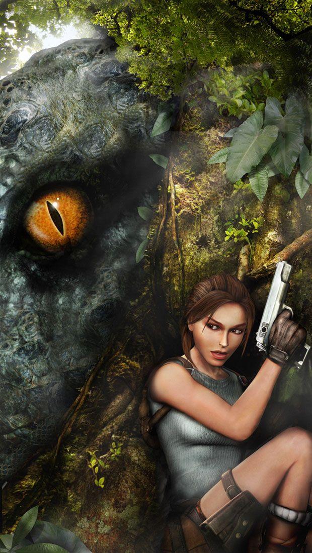 T-Rex Göz ve Lara Croft | Tomb Raider Yıldönümü