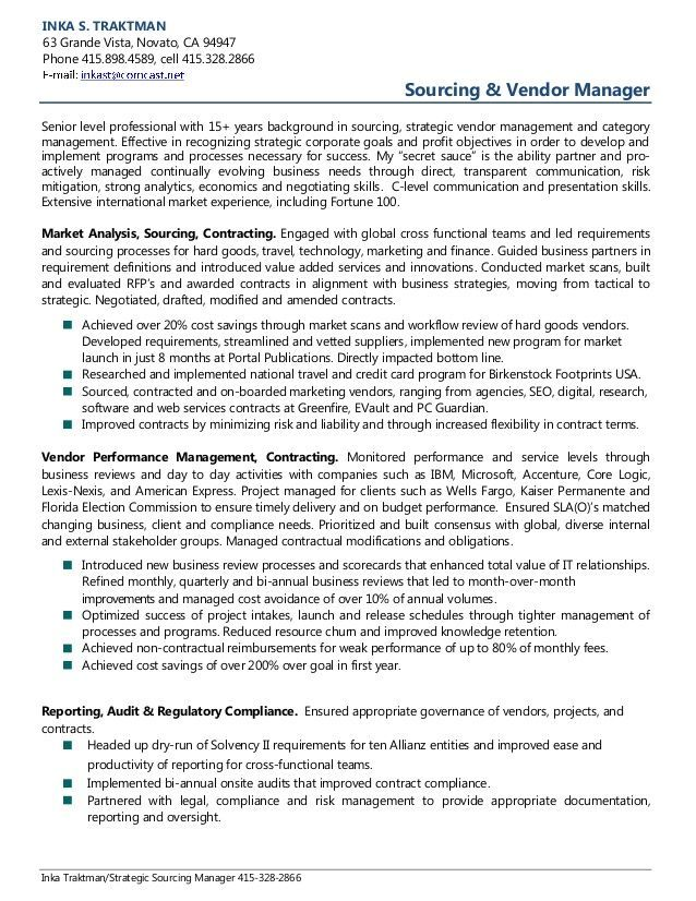 Resume Examples Vendor Management Resume Examples Job Resume Examples Professional Resume Examples